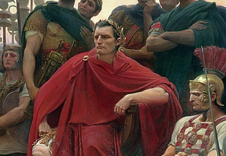 Caesar được tôn làm nhà lãnh đạo tối cao của La Mã năm 44 TCN.