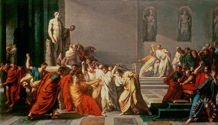 Tranh minh hóa vụ ám sát của Ceasar
