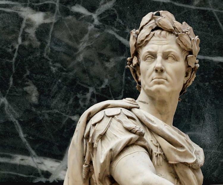Tượng của Julius Caesar.