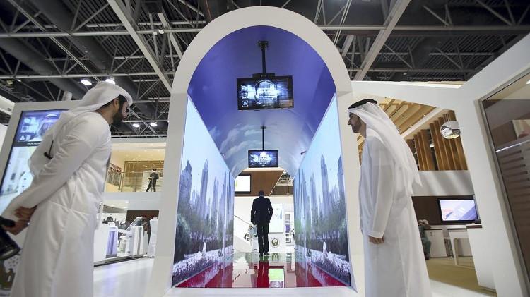 Đường hầm kiểm tra an ninh mới của Dubai.