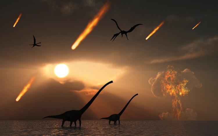 66 triệu năm trước một vụ nổ thiên thạch đã xóa sổ loài khủng long trên Trái đất.