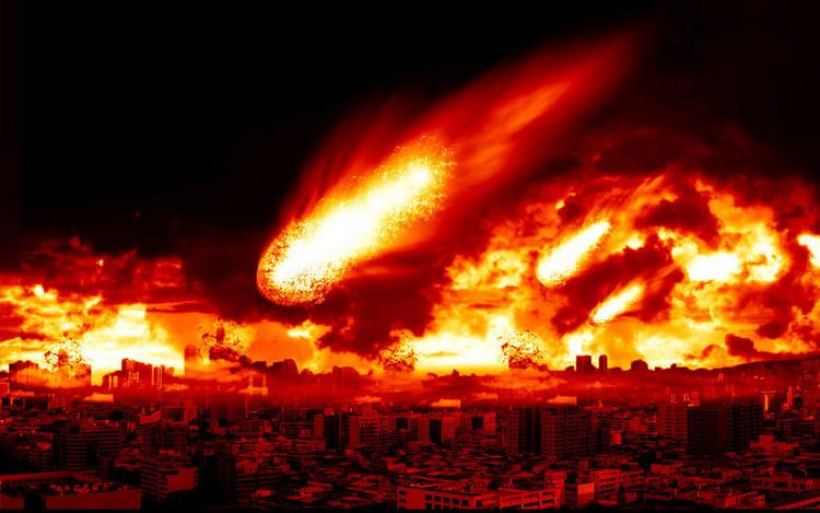 Nếu thiên thạch Apophis đâm vào Trái đất sẽ tạo nên một vụ nổ khủng khiếp.
