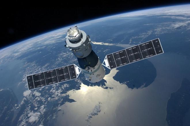 Những mảnh vỡ của Thiên Cung 1 sẽ lao vào khí quyển và đâm xuống Trái Đất.