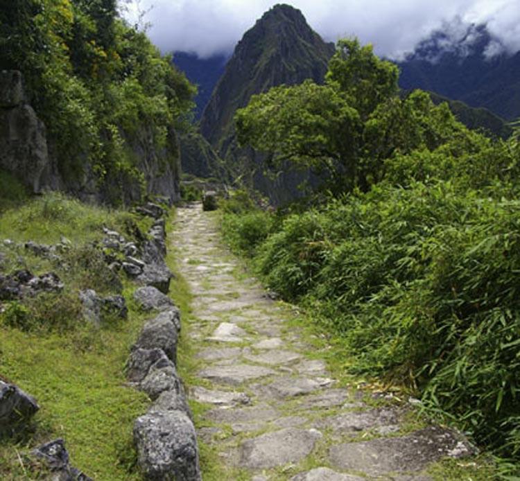 Nét thẩm mỹ của một số đoạn đường Inca.