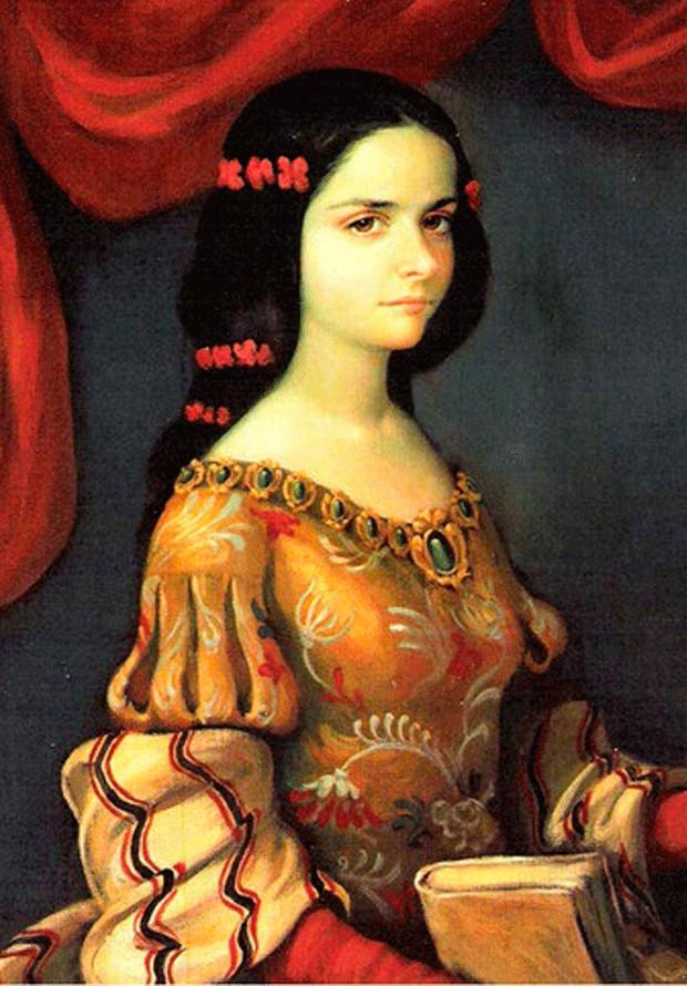 Sor Juana Inés de la Cruz biết đọc sách khi mới biết đi.
