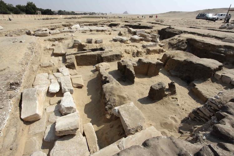 Tàn tích của một ngôi đền cổ thuộc thời kỳ Pharaoh Ramses II.