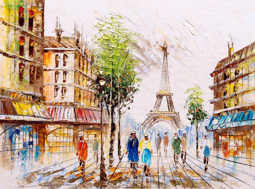Tranh vẽ nước Pháp