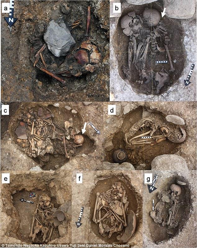 7 bộ xương người bí ẩn được tìm thấy ở Peru.