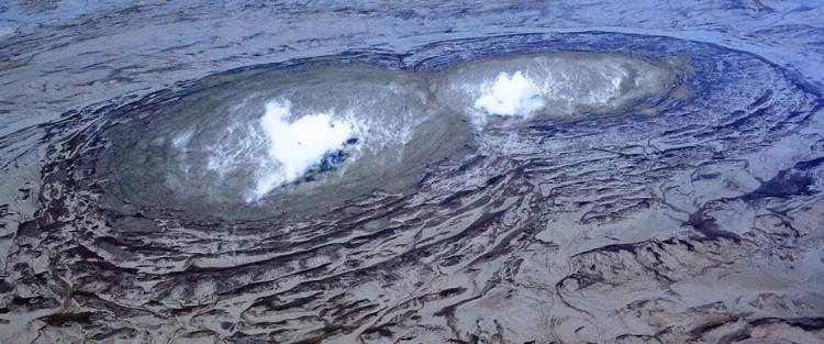 Trên thực tế, núi lửa phun ra bùn tồn tại ở nhiều nơi trên thế giới.