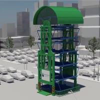 Video: Bãi đỗ xe thẳng đứng tăng không gian để xe gấp 8 lần