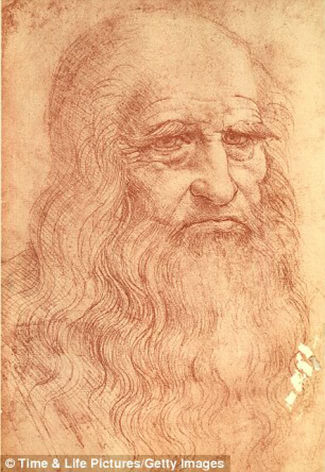 Leonardo da Vinci (IQ: 180-220)