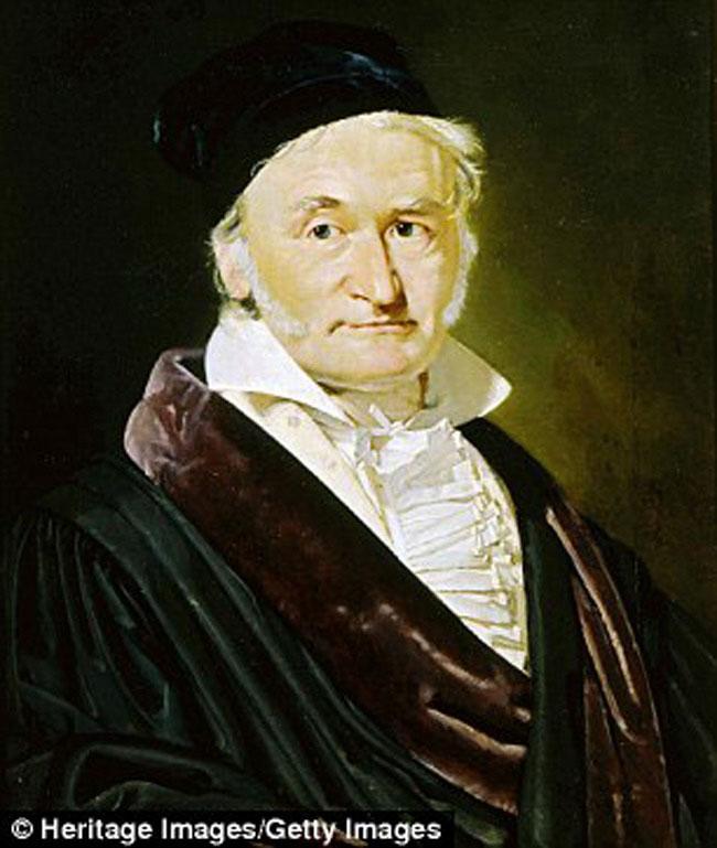 Carl Gauss (IQ: 250-300)