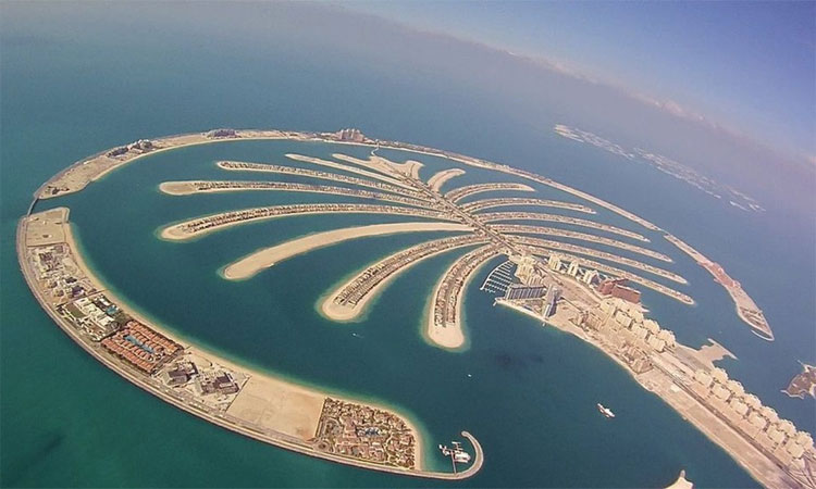 Đảo Palm Jumeirah (Dubai, Các tiểu vương quốc Arab thống nhất)