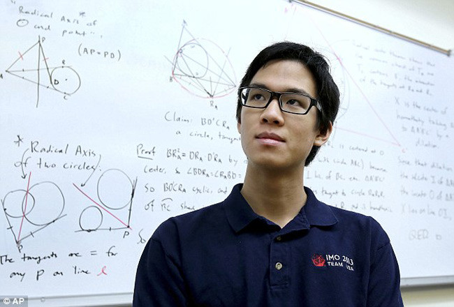 Terence Tao (IQ: 220-230)