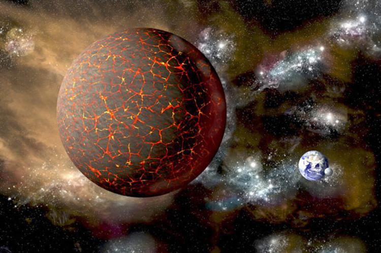 Hành tinh Nibiru được cho là có khối lượng gấp 10 lần Trái đất.