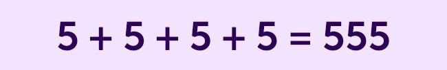Thêm một dấu gạch để phương trình trở thành đúng.