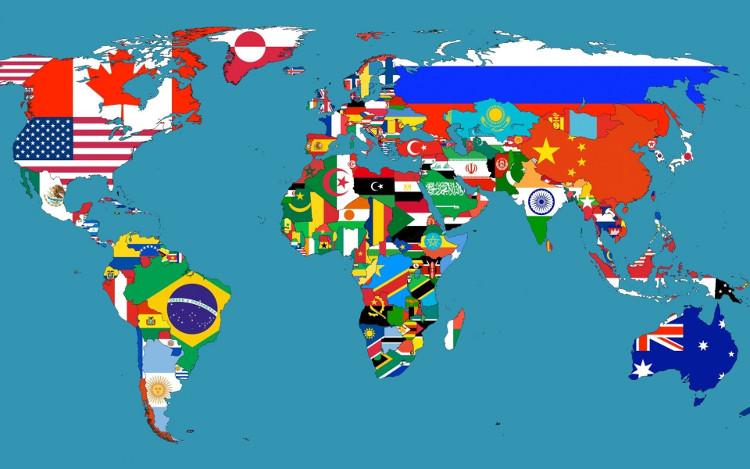 Thế giới hiện nay có tổng cộng 204 quốc gia.