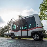 Đức chạy thử nghiệm xe buýt không người lái