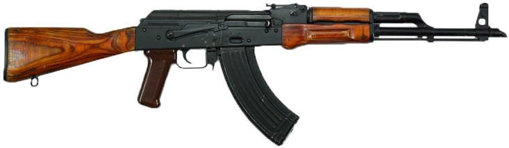 Súng trường tự động Kalashnikov hay súng AK.