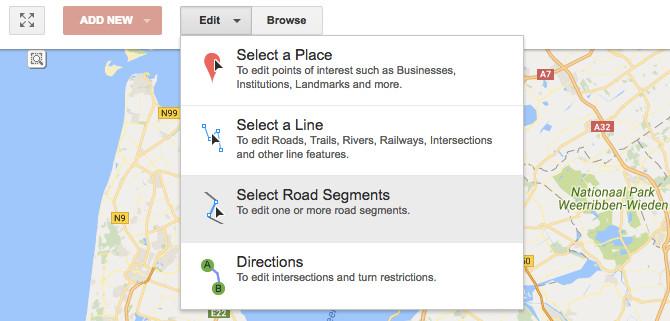 Người dùng có thể chỉnh sửa bản đồ của Google với sự đóng góp của chính mình.