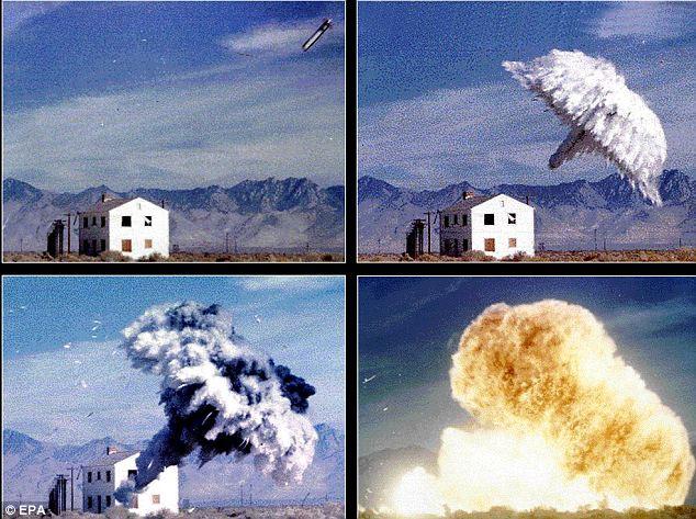 Một vụ thử nghiệm bom nhiệt áp.
