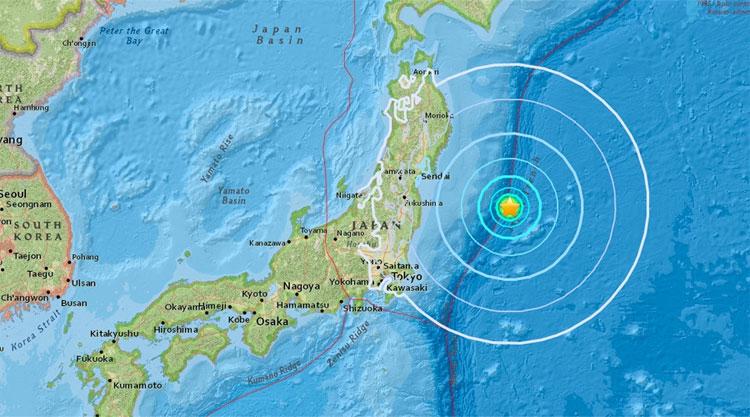 Có lời tiên đoán rằng một trận động đất mạnh 6,3 độ richter sẽ xảy ra ở bờ biển phía đông Nhật Bản đầu tháng này.