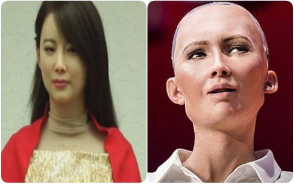 Jia Jia và Sophia có nhan sắc khá chênh lệch.