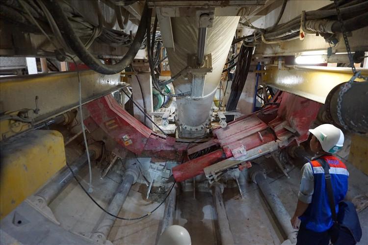 Máy khoan hầm TBM sẽ được tháo dỡ và đưa về lại ga Ba Son để tiếp tục khoan hầm phía Tây.