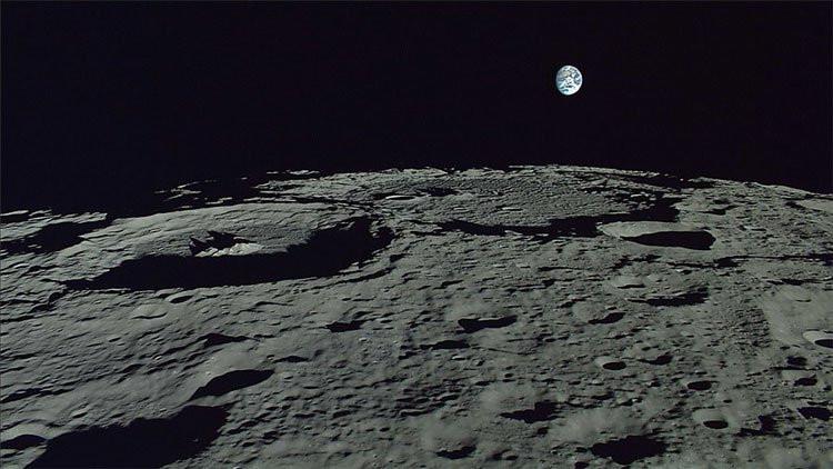 Trái đất chụp từ Mặt trăng.