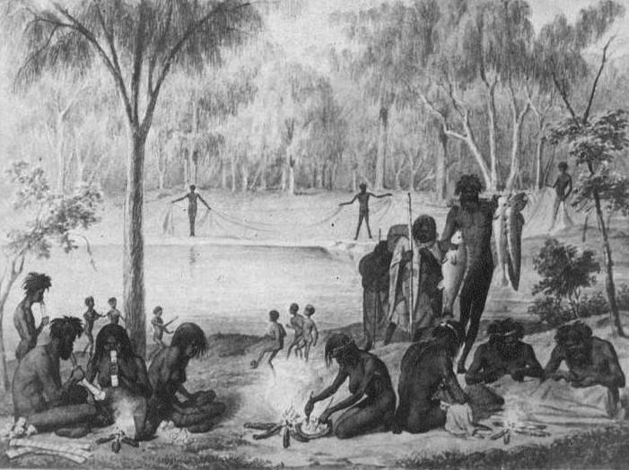Cuộc sống của thổ dân.