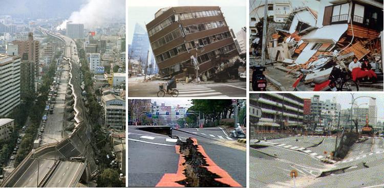 Động đất diễn ra khi hai mảng thạch quyển va vào nhau.