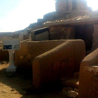"""Lần đầu mở """"hầm mộ bị nguyền rủa"""" bí ẩn ở Ai Cập"""