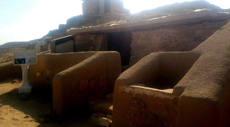 """""""Ngôi mộ bị nguyền rủa"""" vừa được mở cửa ở Ai Cập."""