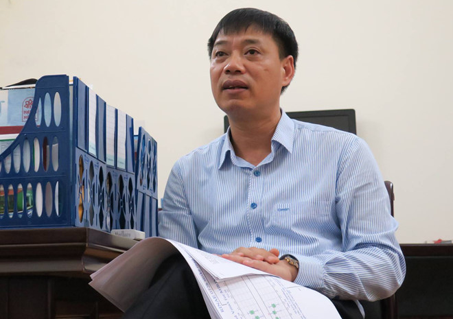 Ông Hoàng Đức Cường, Giám đốc Trung tâm Dự báo khí tượng thủy văn trung ương