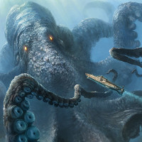 Hóa thạch nghi là bằng chứng về quái vật mực ăn cá voi