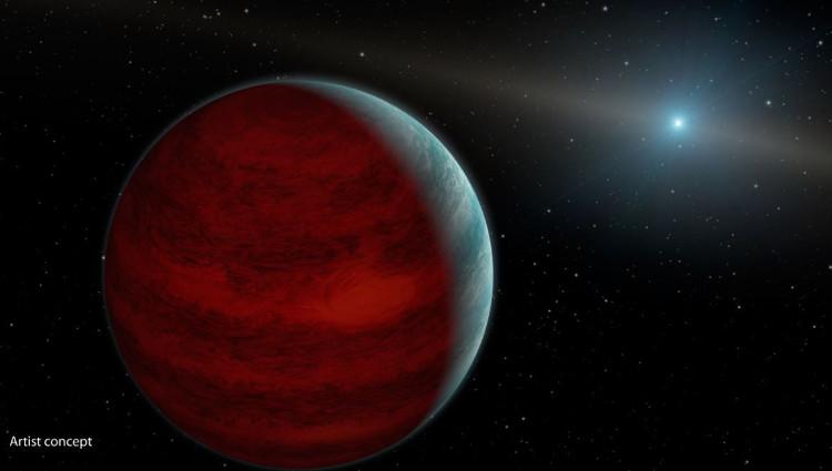 Hành tinh mới được phát hiện bằng kỹ thuật khuếch đại hấp dẫn.