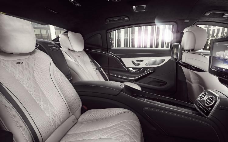 Nội thất đẳng cấp bên trong siêu xe Mercedes-Benz S600 Maybach Guard.