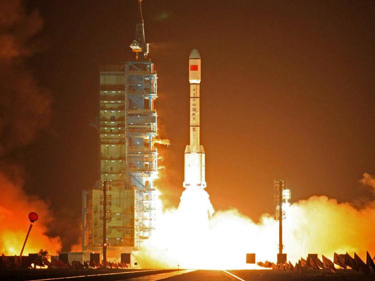 Tên lửa đẩy Trường Chinh 2FT1 có mang theo trạm vũ trụ Thiên Cung 1