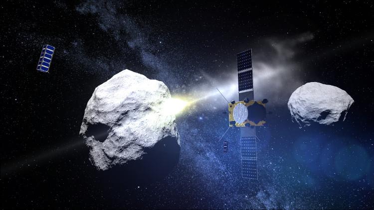 Dự án sử dụng hai tàu vũ trụ đâm vào thiên thạch và theo dõi vụ va chạm.