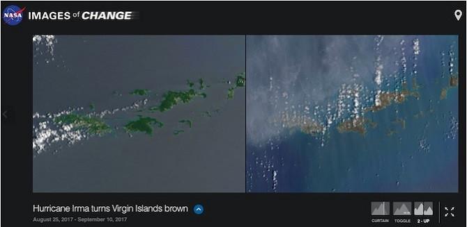 """Images of Change (Web): Hình ảnh """"Trước và Sau"""" từ vệ tinh"""