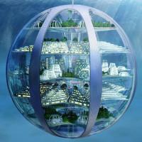 Con người có thể hóa tiên cá sống trong thành phố dưới nước