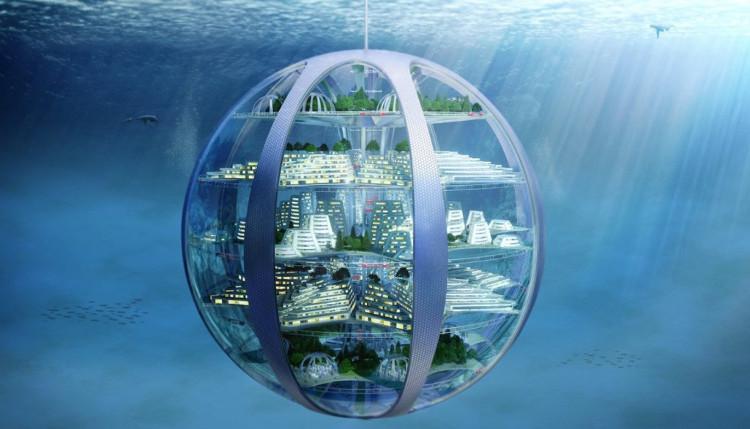 Con người có thể sống trong những thành phố dưới nước trong tương lai.