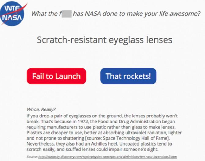 WTF NASA (Web): NASA đã giúp Thế giới như thế nào