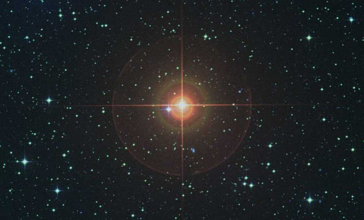 Sao W Hydrae trong vũ trụ.