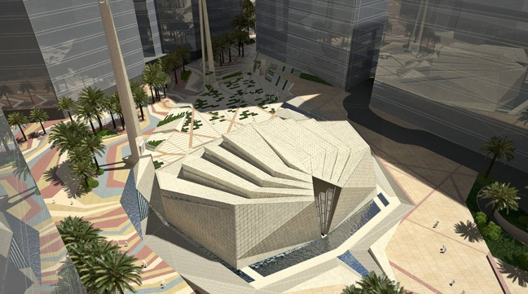 Một trong các quảng trường sẽ bao gồm một nhà thờ Hồi Giáo