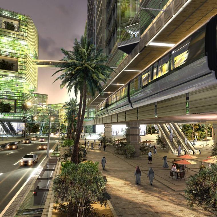 Theo các kiến trúc sư, một phần Quận sẽ có cả hệ thống đường ray tàu điện