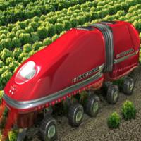 Cỗ máy làm nông biết trồng trọt và thu hoạch một cách tự động