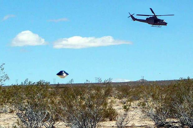Nó xuất hiện khi có trực thăng bay qua.