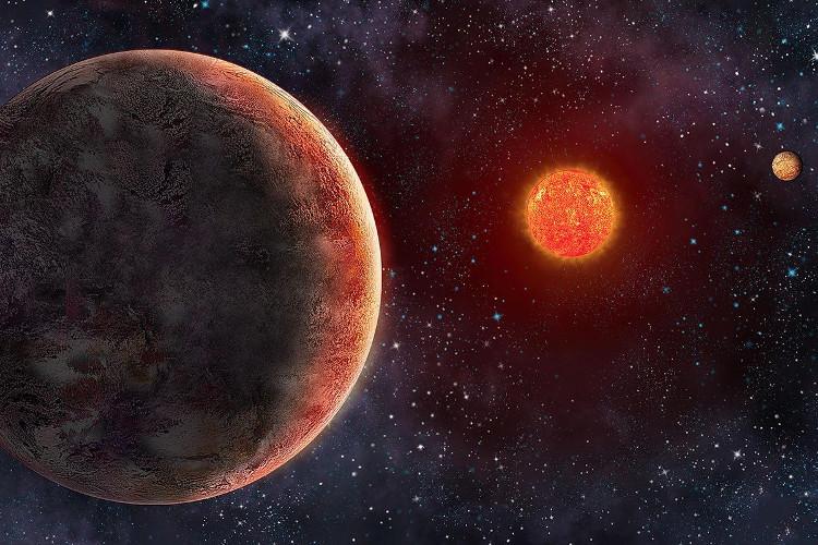 Minh họa hệ sao GJ 273.