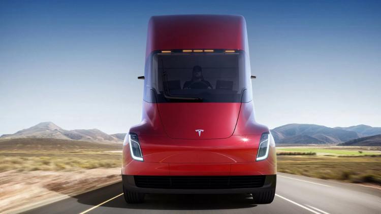 Chiếc xe tải của tương lai với hình dáng của tương lai.
